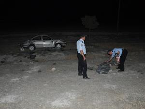 Konyada feci kaza; 2 ölü 6 yaralı