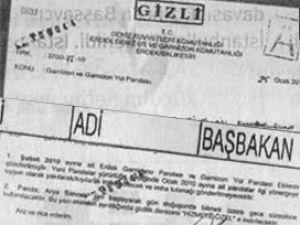 Bir astsubaya adi başbakan tutuklaması