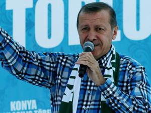 Bu gömlek Başbakan Erdoğan'a uğur getiriyor