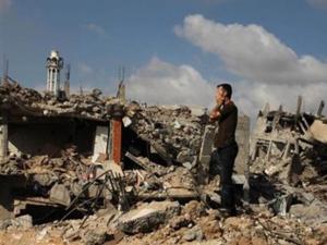 Gazzede 72 saatlik ateşkes başladı