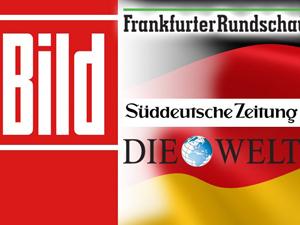 Alman basını katliamı örtüyor