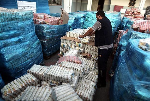 Türkiyeden Gazzeye 8 milyon dolarlık yardım