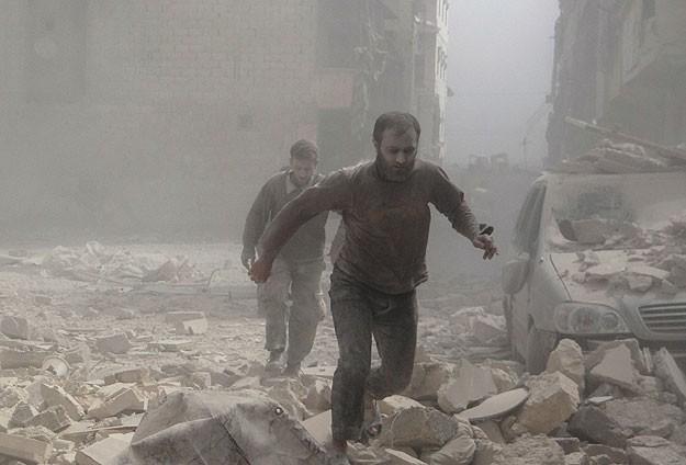 Şama vakum bombası atıldı