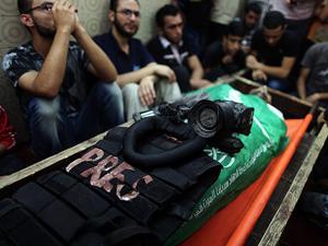 Gazzede ölen gazetecilerin isimleri açıklandı