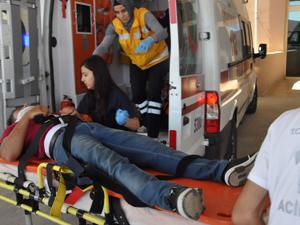 Konyada trafik kazaları; 5 yaralı