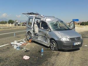 Konya'da trafik kazası: 7 yaralı