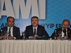 Konya Erdoğan'ın mitingine hazır