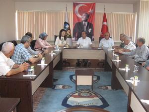 Türkmenoğlu'ndan KONESOB'a ziyaret