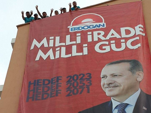 Konyadan Erdoğana destek