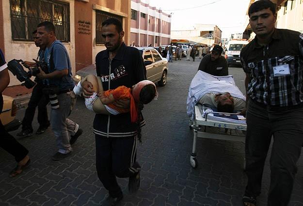 İsrail Gazzeyi 67 yerden vurdu