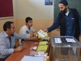 Oy verme işlemi başladı
