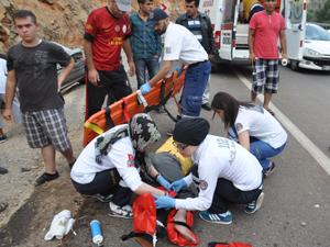 Konyada feci kaza: 3 yaralı