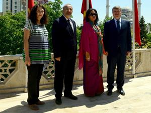 SRİ Lanka Büyükelçisi'nden Büyükşehir'e ziyaret