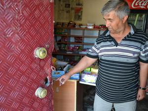 Kulu'da bakkaldan hırsızlık