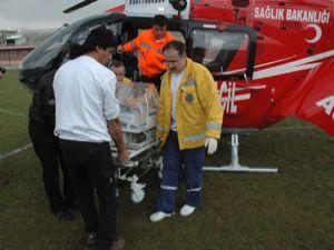 Konya da hava ambulansı yaygınlaşıyor