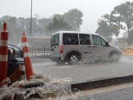Meteorolojiden 14 ile kuvvetli yağış uyarısı