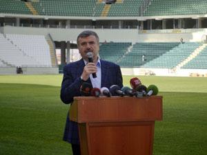 Konyanın anıtsal eseri yeni stadyum