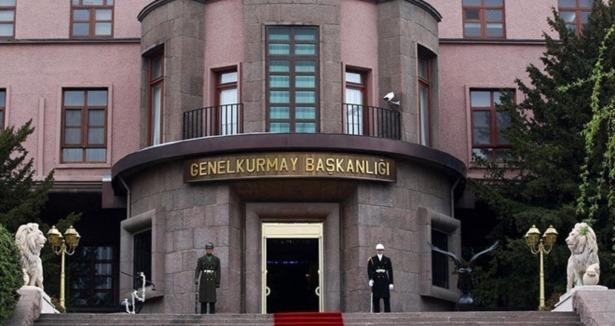 TSK: 250 kişilik grup roketatarla saldırdı