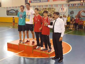 Engelliler badminton şampiyonu Konya'dan
