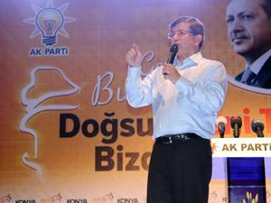 Konyalılar Başbakanlık için Davutoğlunu bekliyor