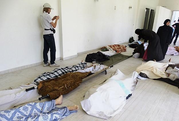 Kimyasal katliamın yıl dönümünde Suriye