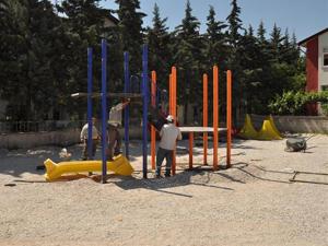 Meram'a 32 yeni park