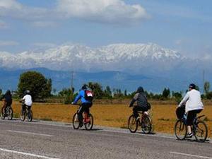 Beyşehirde park bisikleti dönemi