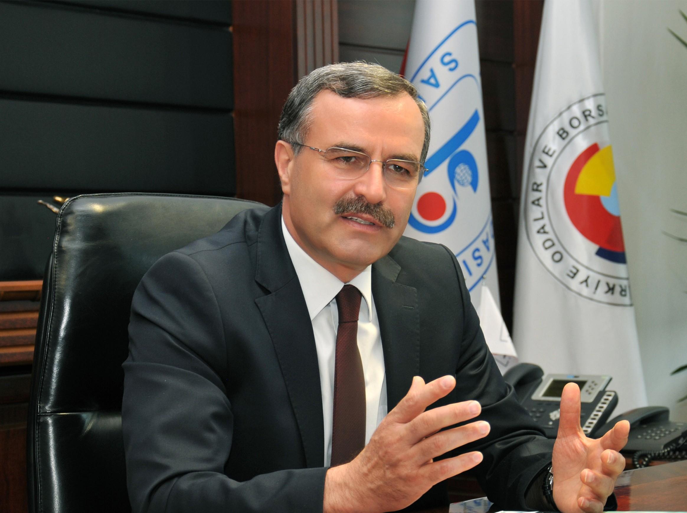 KSO Başkanı Kütükcü'den Davutoğlu mesajı