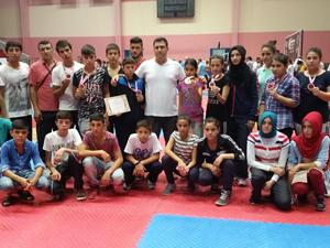 Derbentli sporcu Tanrıverdi Türkiye Şampiyonu