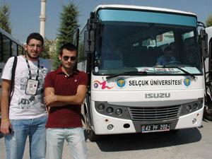 Selçuk Üniversitesinden öğrencilere hizmet