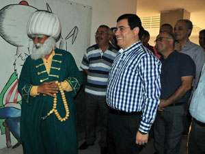 Kepez Belediyesi'nden Akşehir'e ziyaret