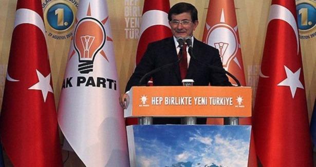 Ahmet Davutoğlunun ilk konuşması