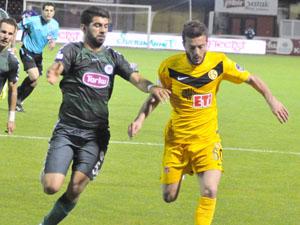 Eskişehirspor ile Torku Konyaspor 29. radevuda