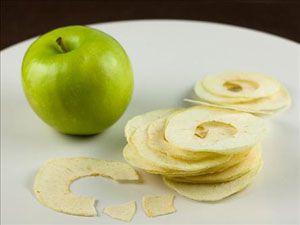 Patates ve mısırdan sonra elma cipsi