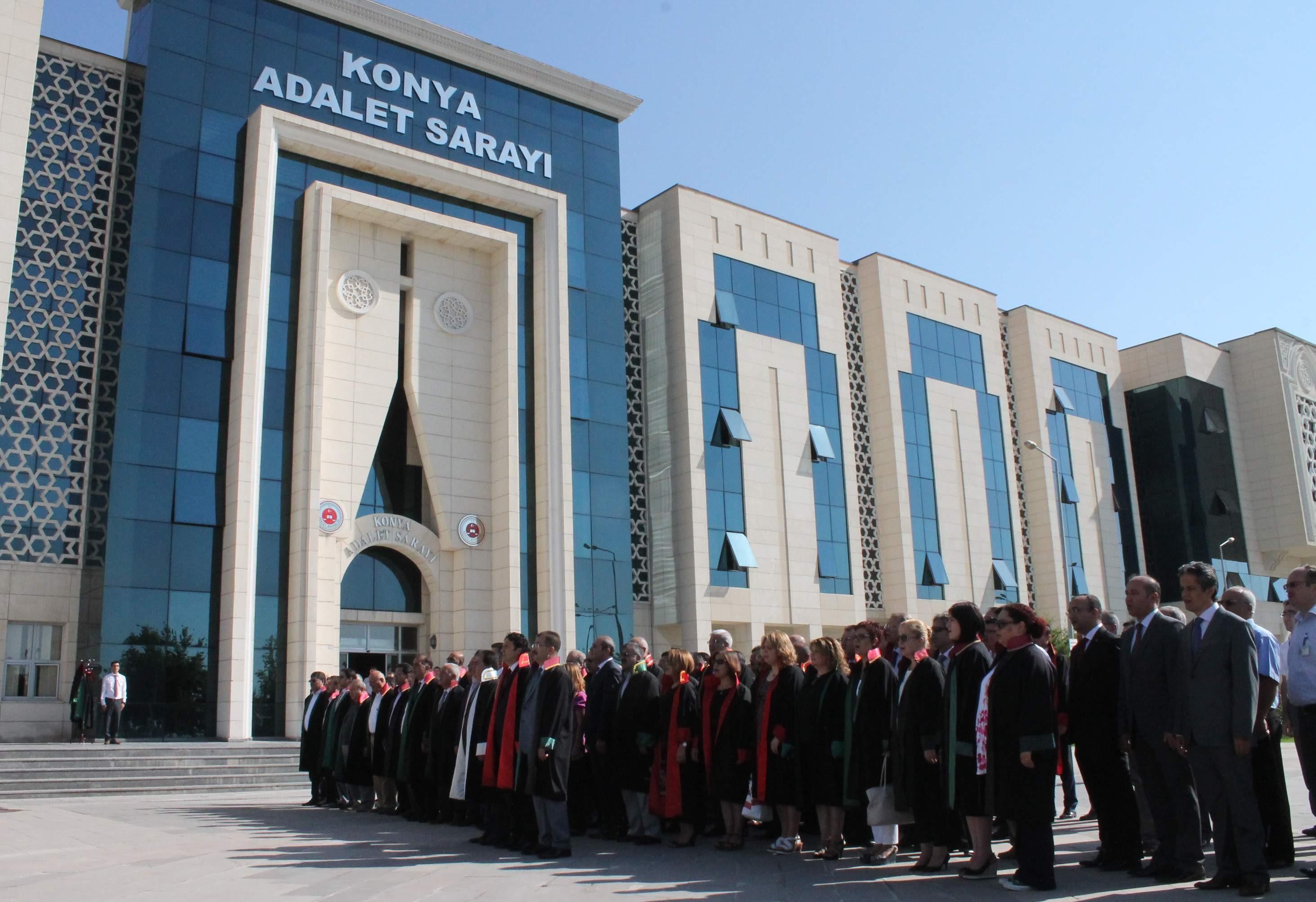 Konya'da adli yıl açılış töreni yapıldı