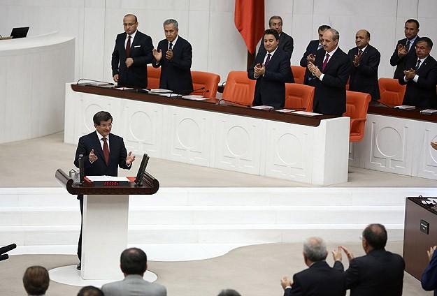 Davutoğlu 62. hükümetin programını okudu