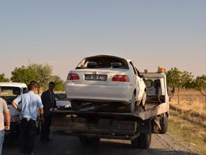 Konyada otomobil takla attı: 7 yaralı