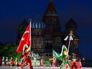 Kızıl Meydanda Osmanlı rüzgarı