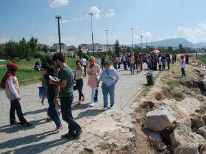 Karatay Gençlik Merkezi öğrencileri Beyşehirde