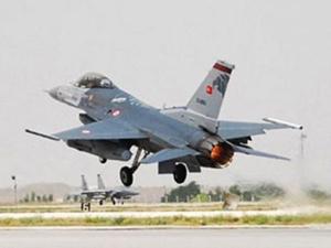 Diyarbakırda savaş uçağı düştü!