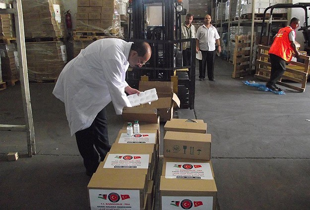 Türkiye'nin Gazzeye yardımları 15 milyon dolara ulaştı
