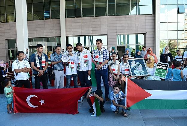 Gazzeli yaralılardan Türkiyeye teşekkür
