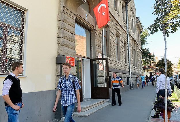 Türkiye Ukraynada fahri konsolosluk açtı