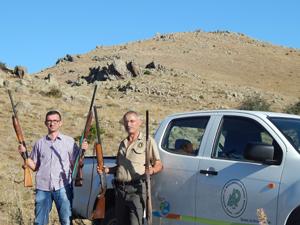 Konyada kaçak avcılar suçüstü yakalandı