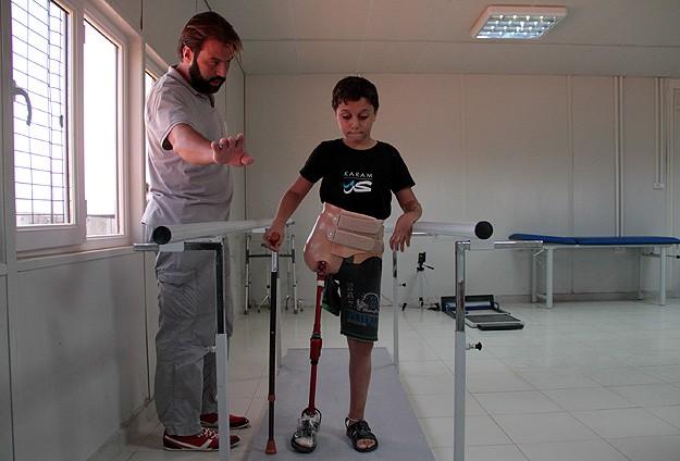 Savaşın çocukları Türkiyede ayağa kalkıyor