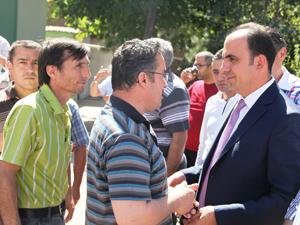 Başkan Altay, cuma buluşmasında