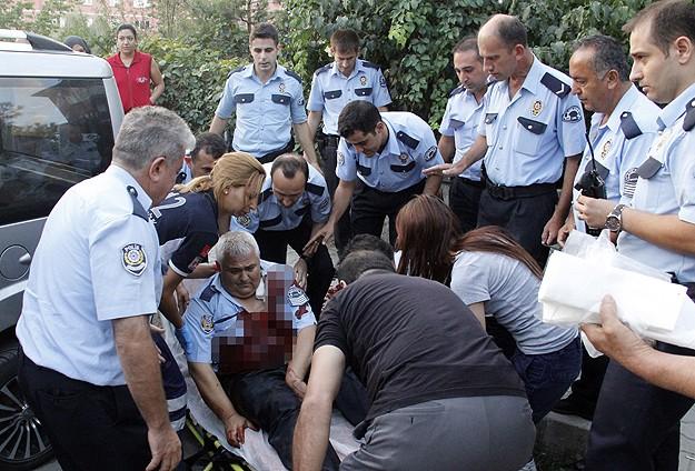Başkentte hırsızlar 3 polisi ağır yaraladı