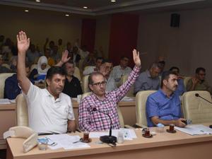 Meram'da yeni müdürlüklerin yönetmelikleri onaylandı