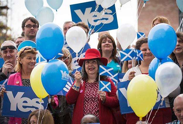 İskoçyada kritik bağımsızlık referandumu