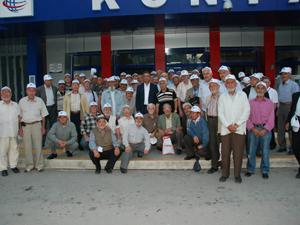 Emekliler YHT ile Ankara turuna çıktı